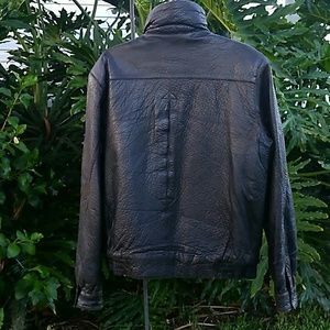 American Eagle Outfitters Jackets & Coats - American Eagle Outfitters lined leather jacket